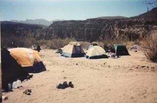 rio grande campsite